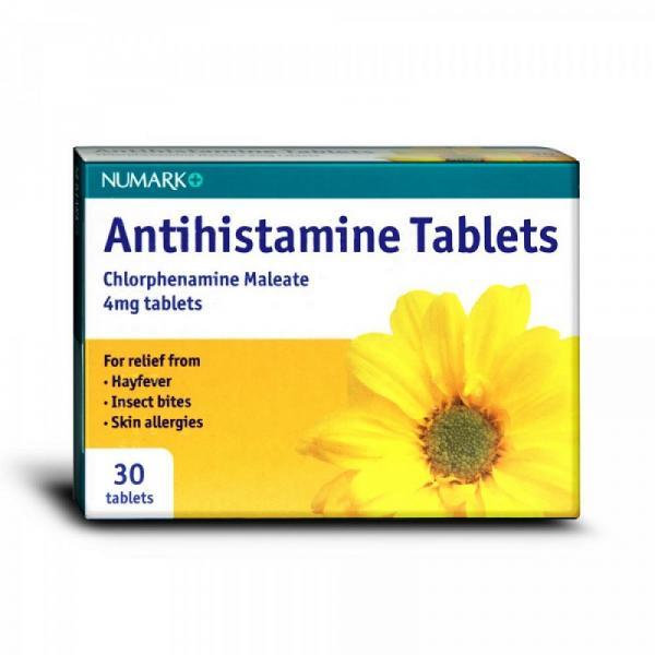 استفاده از آنتی هیستامین ها